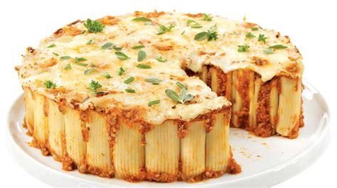 hache de cuisine gâteau de rigatonis au boeuf recettes iga