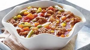 Easy Vegetable-Beef Soup Recipe - BettyCrocker.com