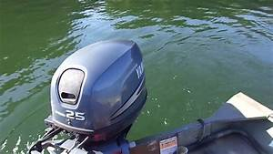 Yamaha 25 Hp 4 Stroke  Lake Test