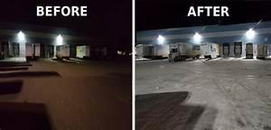 Premier Lighting Case Study  Outdoor Metal Halide Retrofit To Led