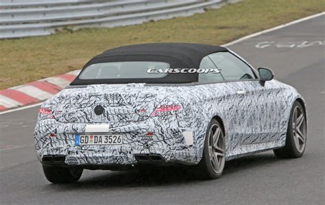 New Mercedes Amg Convertible Spied Blasting Its