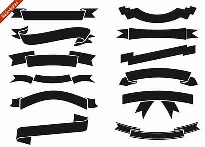 Ribbon Banner Clipart Vector Clip Cliparts Digital