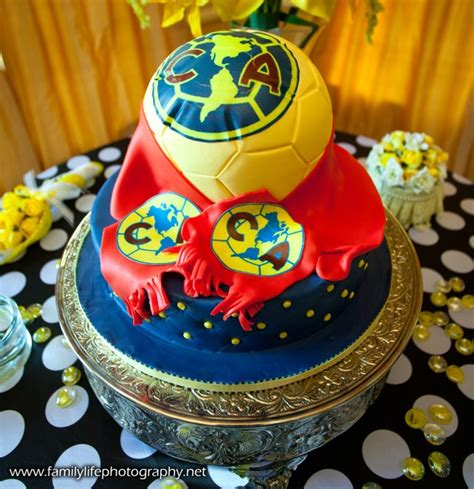 club america soccer ball cake ambrosia cake creations