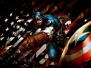 Captain America Wallpaper Comic Book - WallpaperSafari