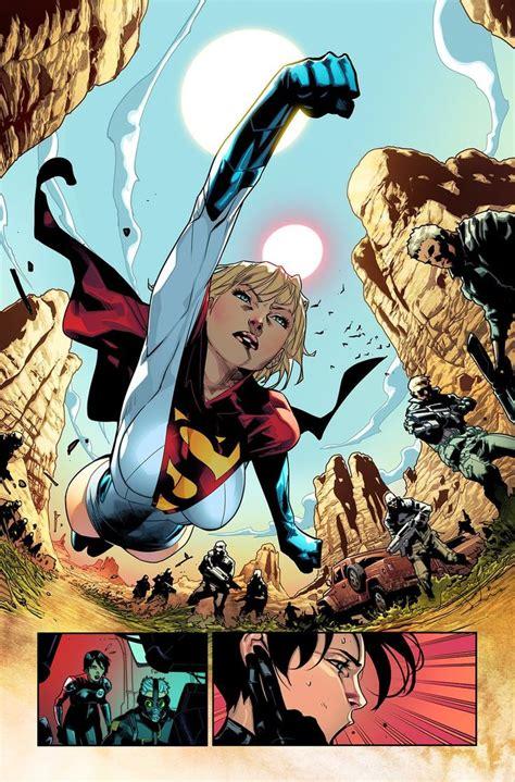 earth  society powergirl comics comic art