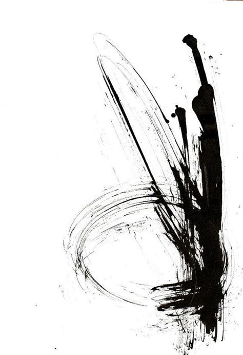 Abstract Black And White Ink Painting by 1072 Best Black And White Abstract Images On