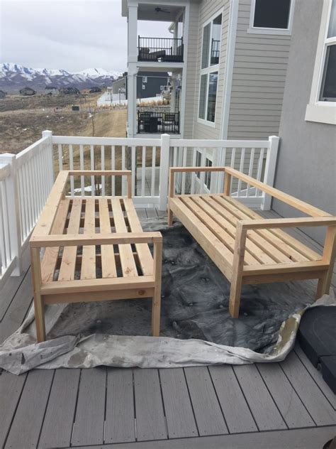 diy outdoor furniture honeybear