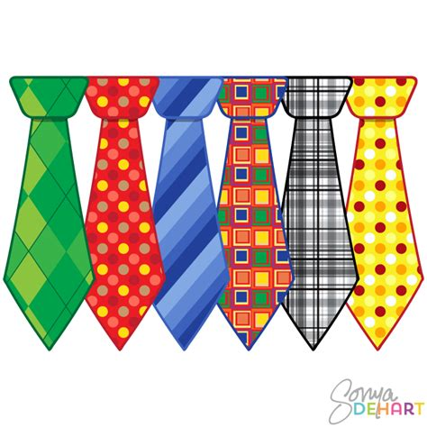 Fathers Day Clipart Clip S Day Neckties