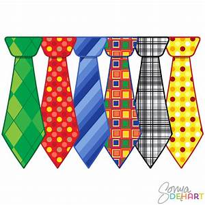 Clip Art Father's Day Neckties