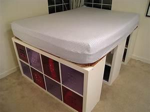 diy full size platform bed with storage Quick