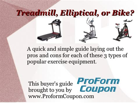 Should I Use A Treadmill, Elliptical, Or Bike?