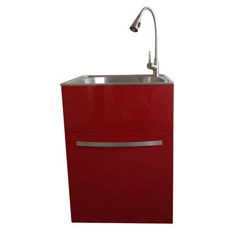 Home Depot Laundry Sink And Cabinet by Presenza All In One 24 2 In X 21 3 In X 33 8 In