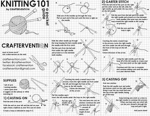 Cheat Sheets For The Knitter U Create