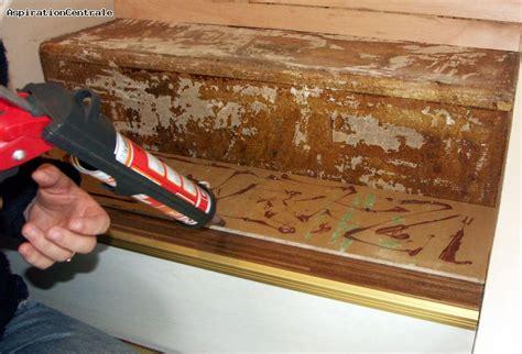 comment reparer des marches en bois