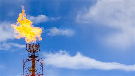 waste gas flaring  gas waste  energy