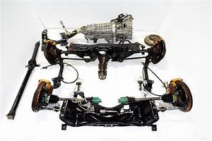 Jdm Sti 6 Speed Non Dccd Transmission Package Ty856wb1ca