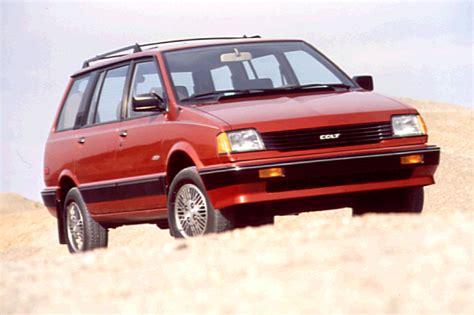 mitsubishi colt 1990 1990 92 dodge colt consumer guide auto