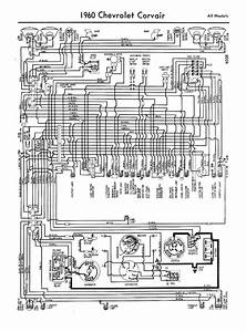 Free Auto Wiring Diagram  1960 Chevrolet Corvair Wiring