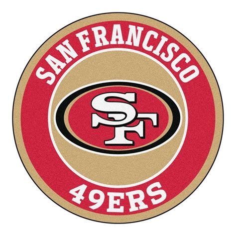 floor and decor houston fanmats nfl san francisco 49ers 2 ft 3 in x 2 ft 3