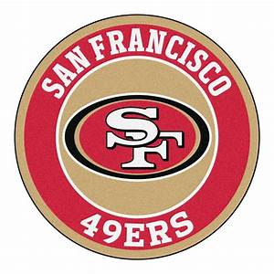 FANMATS NFL San Francisco 49ers Red 2 ft 3 in x 2 ft 3