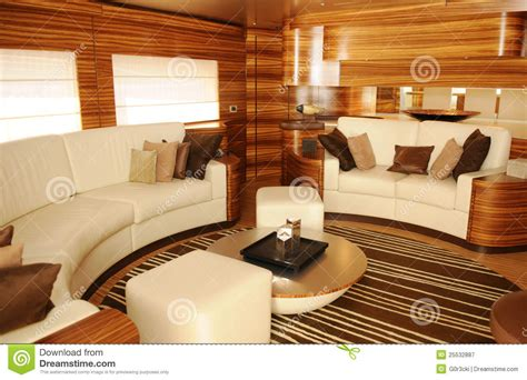 luxury yacht interior cozy living room royalty