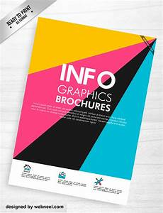 Colorful corporate brochure template design 7 for Colorful brochure
