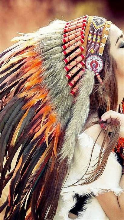 Native American Wallpapers Indian Iphone Headdress Cave
