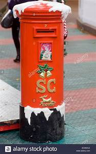santa claus post box for letter to father christmas at the With letters to santa post box