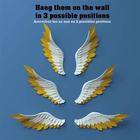 wings papercraft paper angel wings pegasus wings