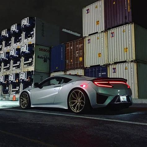 2017 acura nsx on hre p201 alloy wheels tuningblog eu