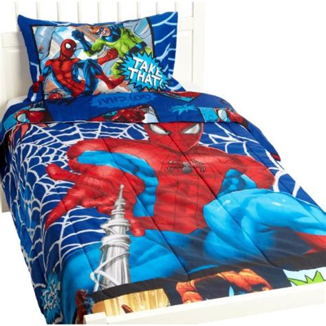 spiderman twin comforter set with twin sheet set 70 30