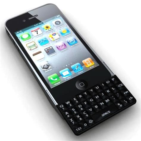 iphone keyboard finally a real qwerty keyboard for the iphone 4 bit rebels