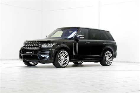 Land Rover Range Rover Backgrounds by Desktop Wallpapers Land Rover Startech 2015 Black Auto White