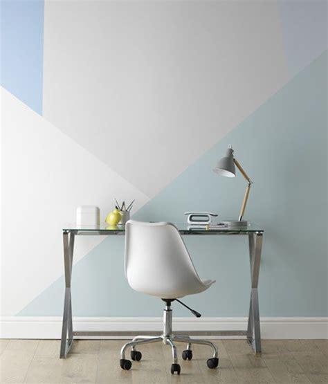 home inspiration paint effect ideas geometric effect
