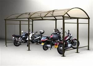 Abri Moto Bois : abris moto abri metallique en kit ~ Melissatoandfro.com Idées de Décoration
