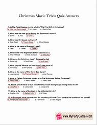 Christmas Trivia Questions And Answers A Selection Of Christmas