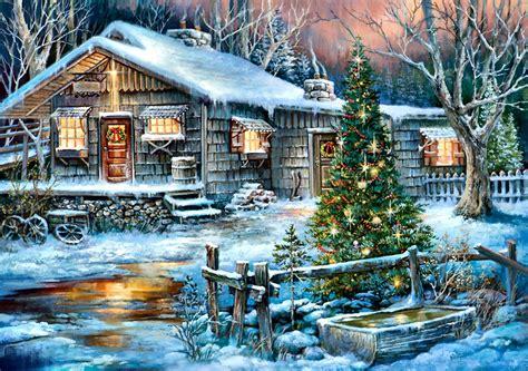 Hó, Téli, Karácsony, Birtok, Fa