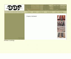 Diversified Drapery Products by Draperyhardware Us Ddp Drapery Hardware
