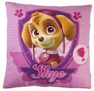 Paw Patrol Square Shaped Cushion Plush Stuffed Pillow Skye ...