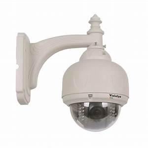 Camera Dome Exterieur : cam ra d me de surveillance ext rieur motoris ~ Edinachiropracticcenter.com Idées de Décoration