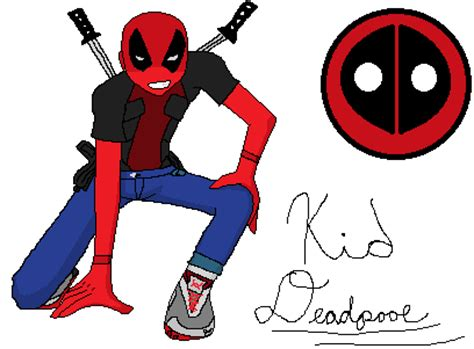 Kid Deadpool By Fbgamer89 On Deviantart