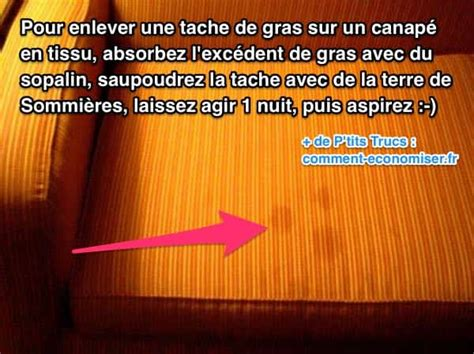 comment nettoyer un canapé en tissu non déhoussable tache de gras sur le canapé l 39 astuce simple et efficace