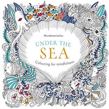 12 sea themed colouring books for adults extraordinary art