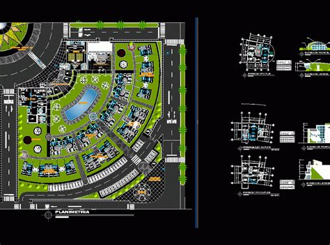 sustaining residential complex dwg block  autocad designs cad