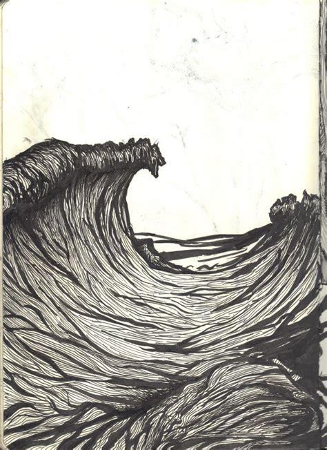 pin  billy  duke  wavey illustration art wave art