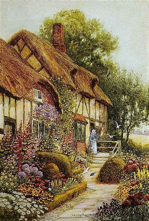 The Cottage Painting by Painting Of Cozy Cottage Beautiful Cozy Country