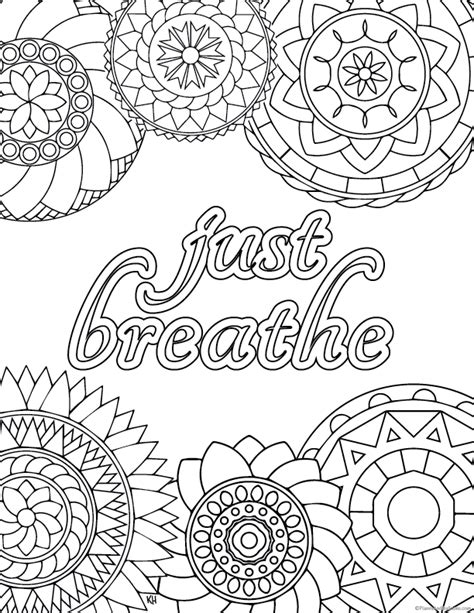 stress relief coloring pages  adults  getcolorings