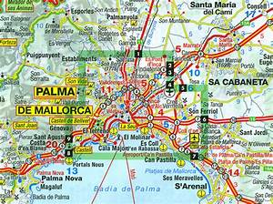 Palma de Mallorca City Map / Mallorca Road Map Stanfords