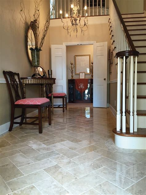 Tile Flooring First Impressions Start With The Foyer