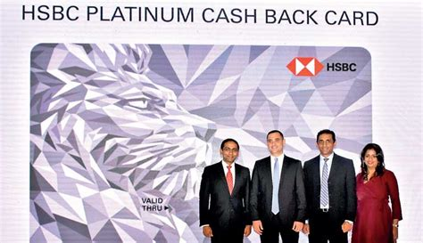 Hsbc Unveils First Ever Visa Cashback Card In Sri Lanka
